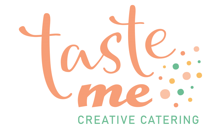 Taste Me Creative Catering Logo with transparent background